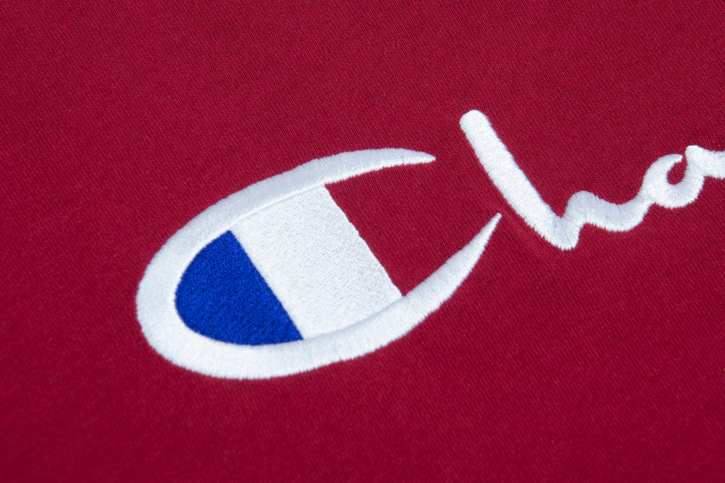 Crewneck T-Shirt Burgundy