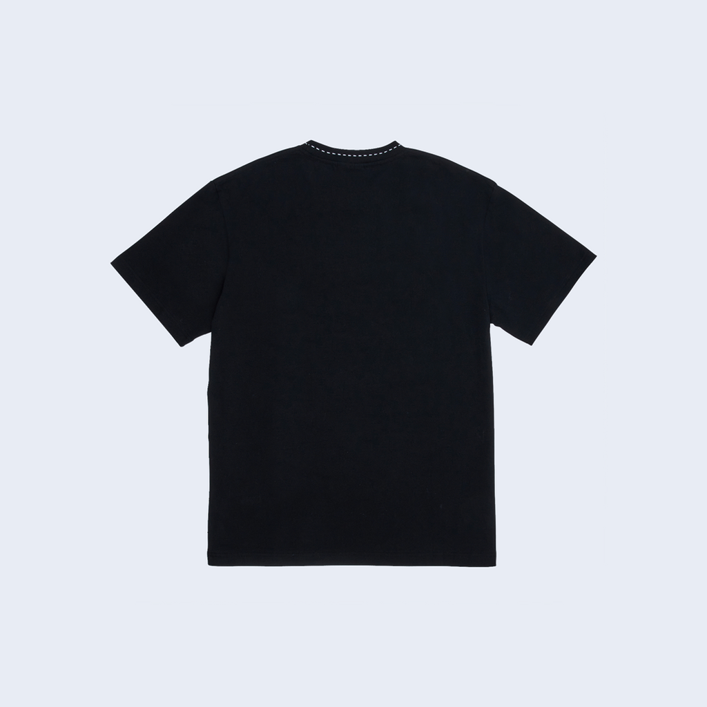 Cut Here Shirt Black