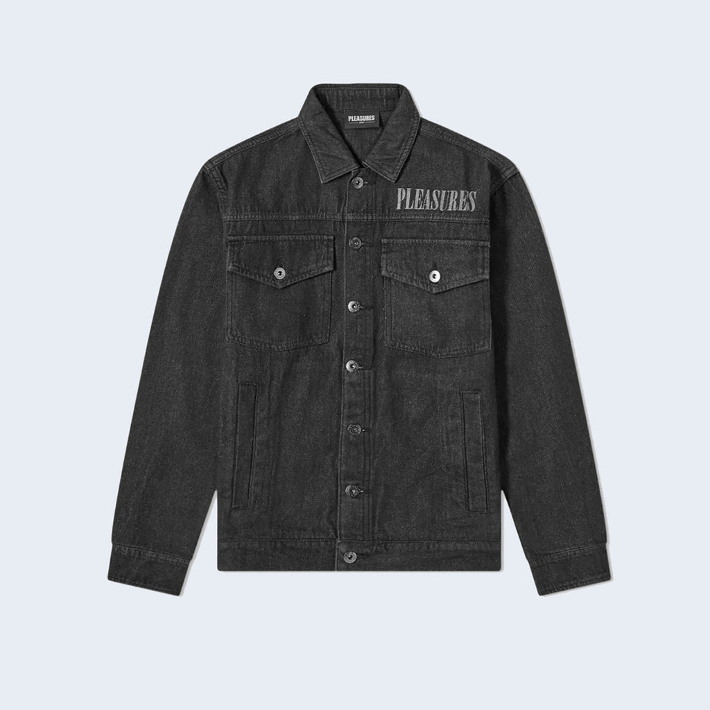 Desire Trucker Jacket Black