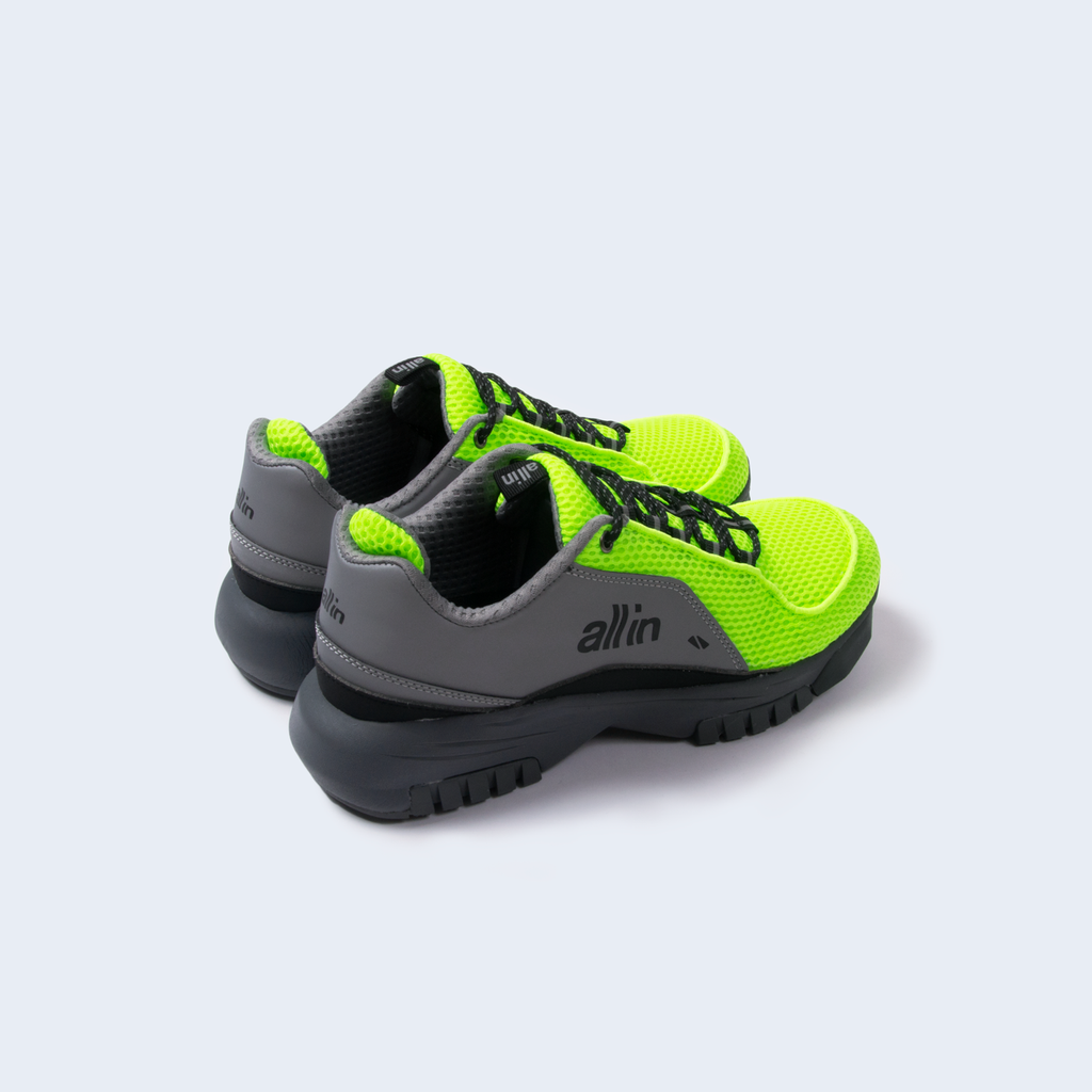 iD Shoes Reflective Green