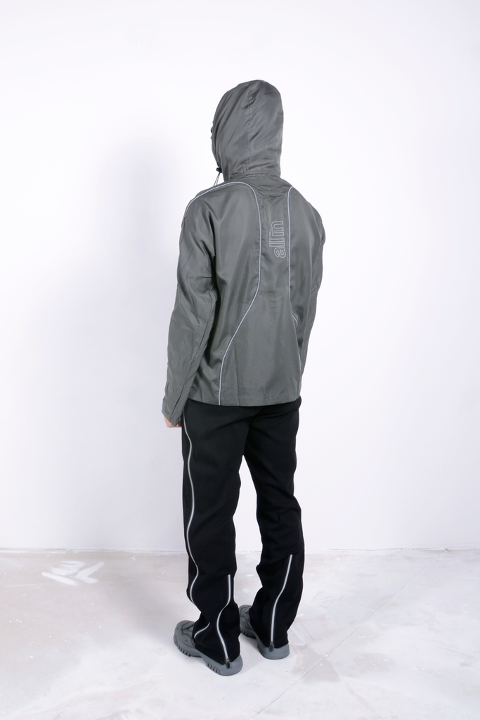 iD Jacket Grey / Reflective