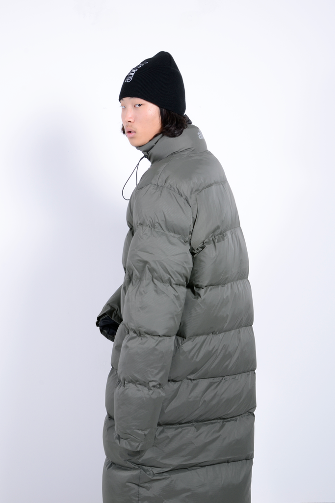 Puffy Downer Jacket Forest Green