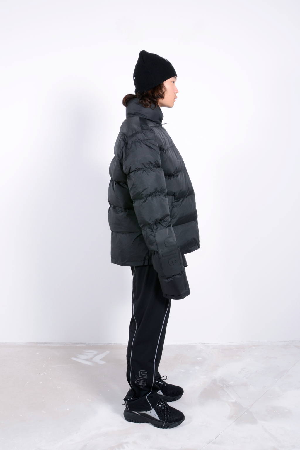 Puffy Winter Jacket 2 Black