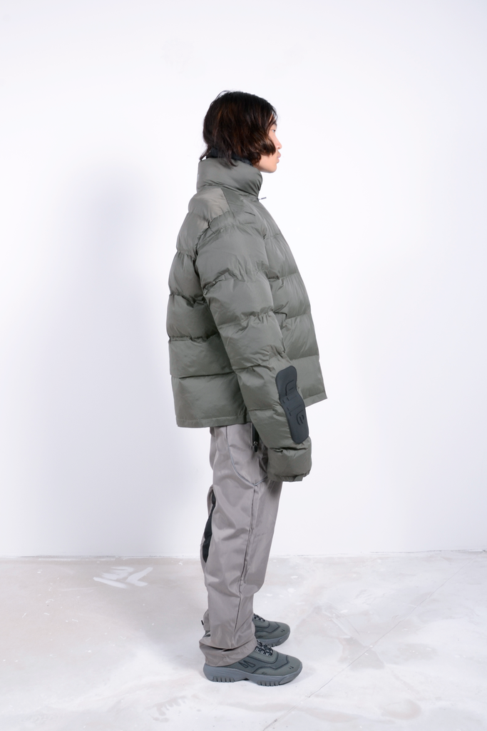 Puffy Winter Jacket 2 Forest Green