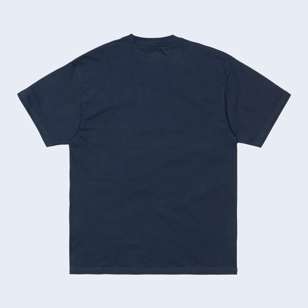 S/S Backyard T-Shirt Blue