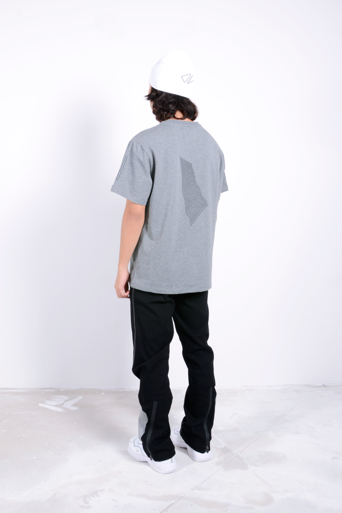 Wave T-Shirt Grey