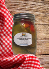 Mom Mom's Bread and Butter Pickles Old Fashioned Made