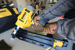 DEWALT 21 Degree FRAMING Nailer Tool Review