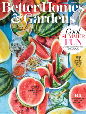 Better Homes and Gardens I Did It Feature July 2018