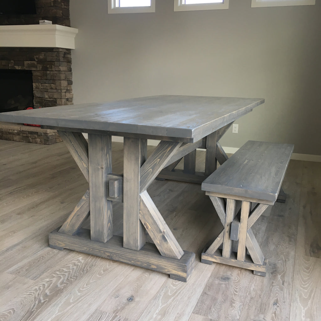 French Farmhouse Dining Table for the kitchen
