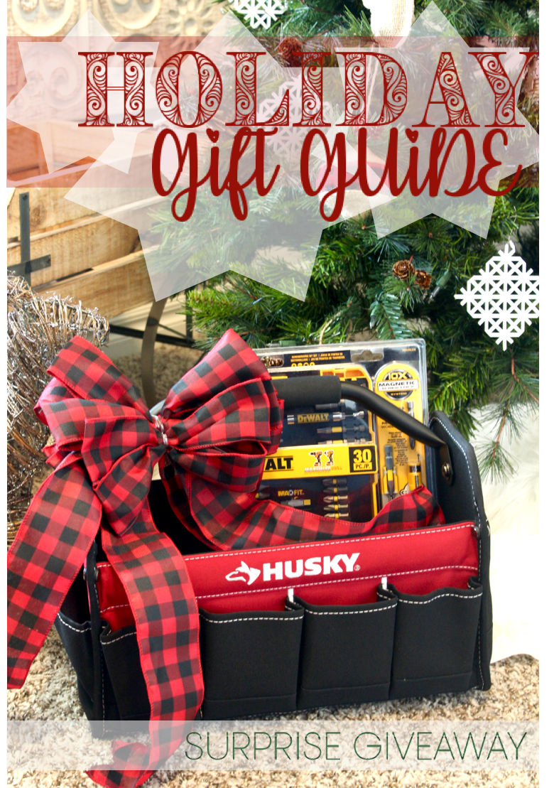 Holiday Gift Guide - Home Depot Prospective Tool Campaign Surprise Giveaway