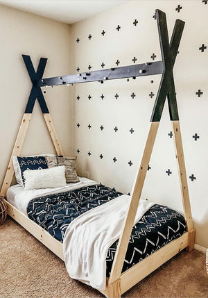 DIY Kids Teepee Bed
