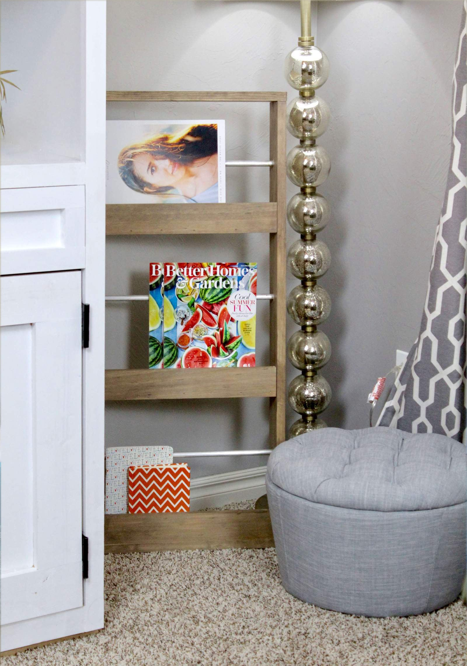Diy Magazine Rack Woodworking Plans And Home Improvement