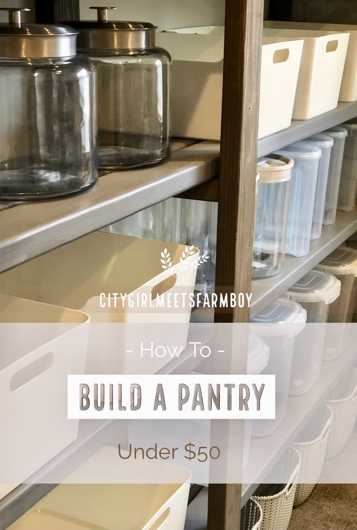 DIY Home Decor Projects - pantry shelves
