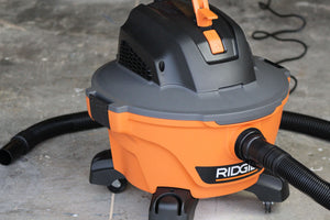Ridgid 6 - Gallon Shop Vac 3.5 Peak Tool Review