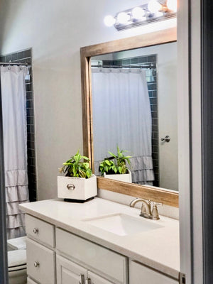 Install a Vanity Mirror Frame