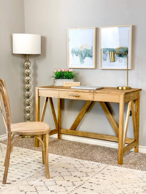 DIY Desk under $100 - Printable Plans