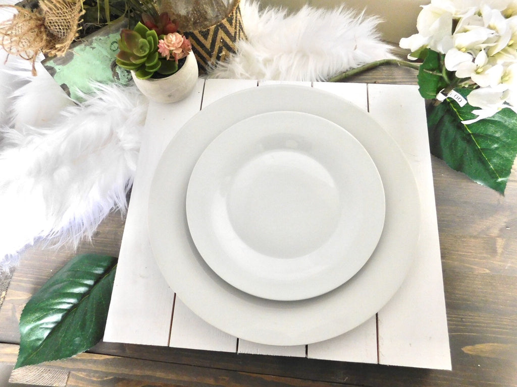 Wooden Shiplap Placemats