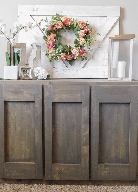 Rustic V Wall Decor