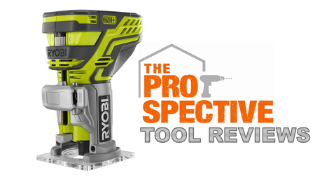 Ryobi Cordless 18V ONE+ Palm Router Tool Review