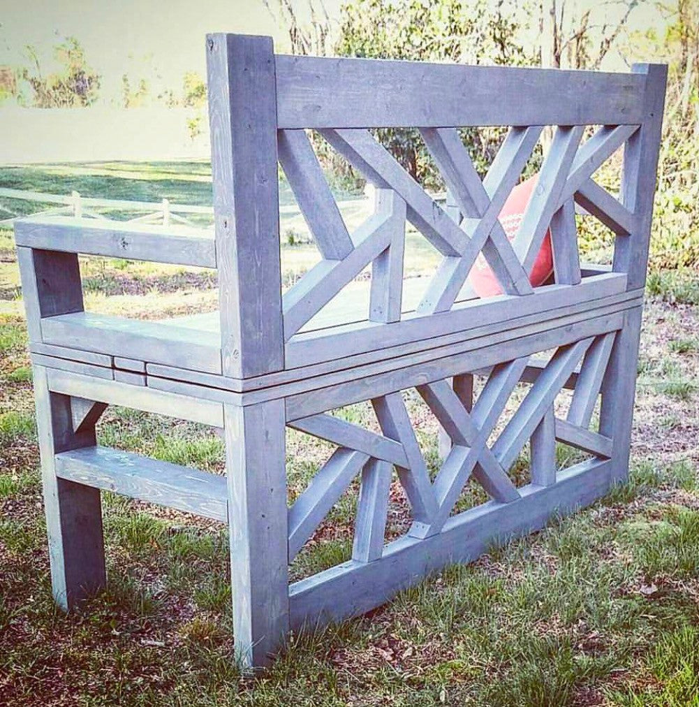 Incredible Outdoor Convertible Coffee Table And Bench Handmade Haven Evergreenethics Interior Chair Design Evergreenethicsorg
