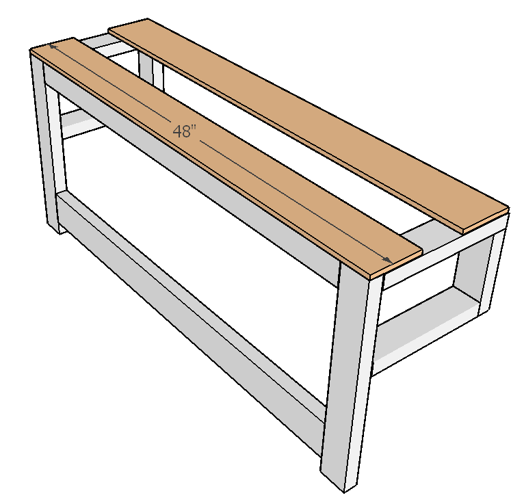 DIY Outdoor Convertible Coffee Table and Bench Plans