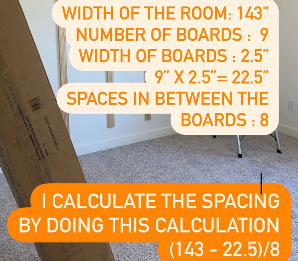 Accent wall calculation