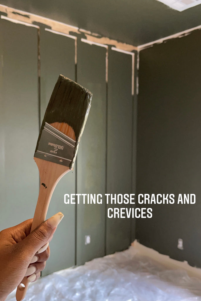 Painting a bedroom