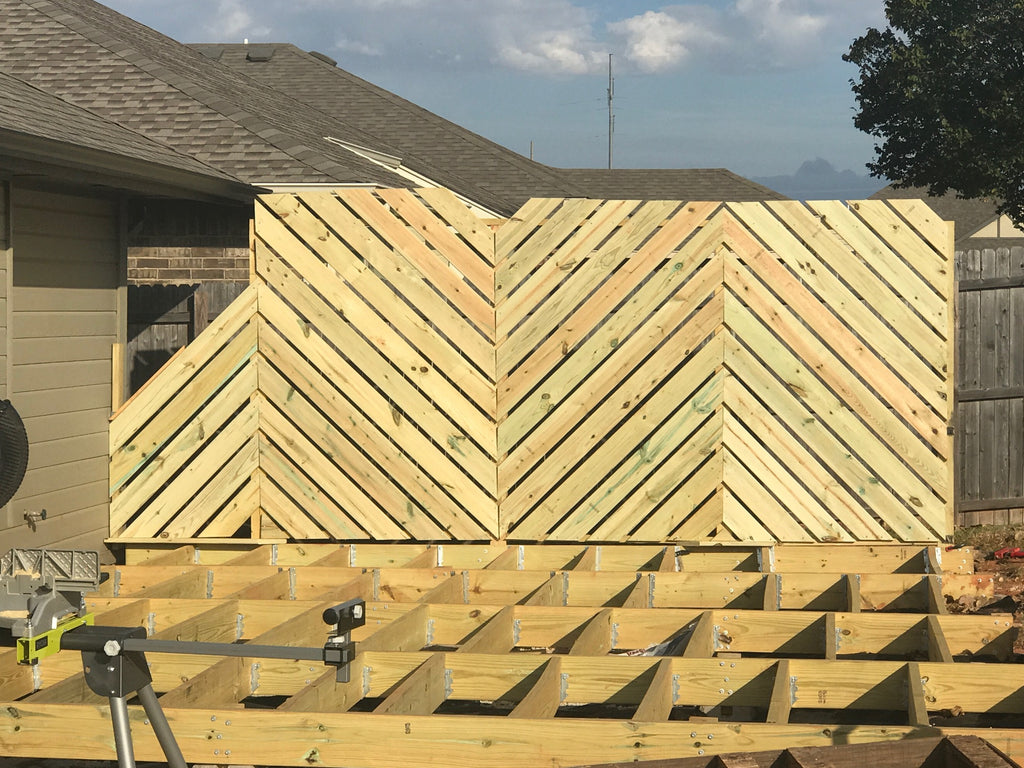 Deck Wall. Good Privacy Wall To One End Of Your Deck With Deck Wall ...