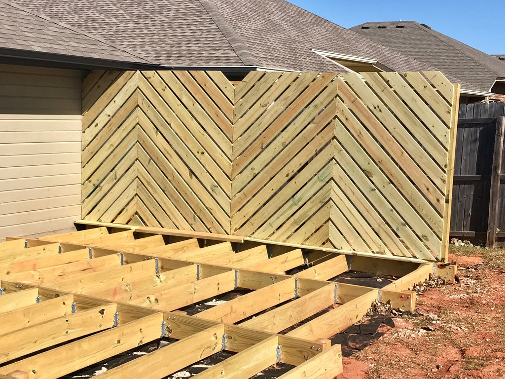 Deck Wall. Amazing Raised Patio With Retaining Seating Wall With ...