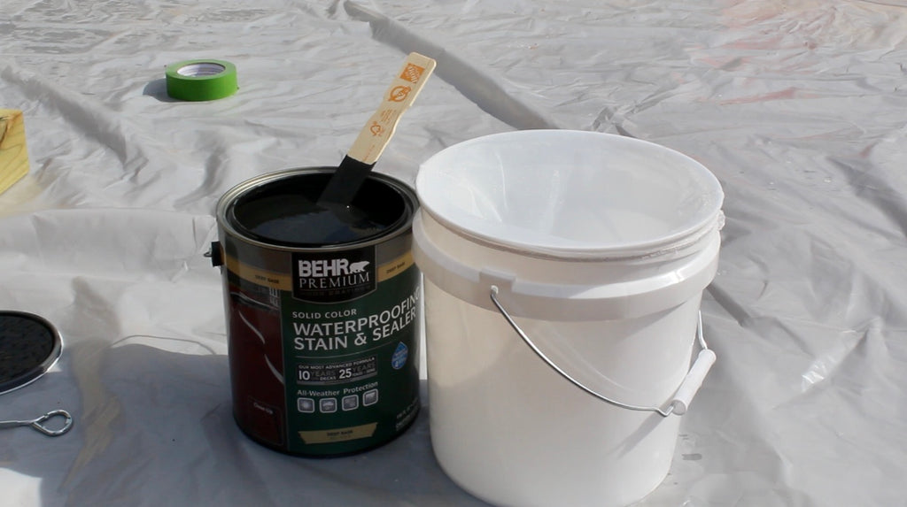 Behr Waterproofing Stain and Sealer Slate