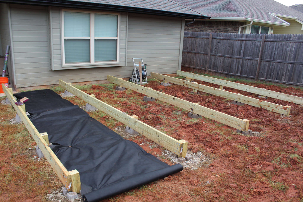 DIY Floating Deck project for my Backyard makeover