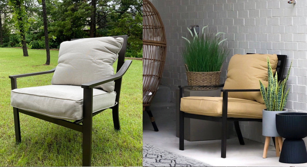 Outdoor Fabric Paint makeover