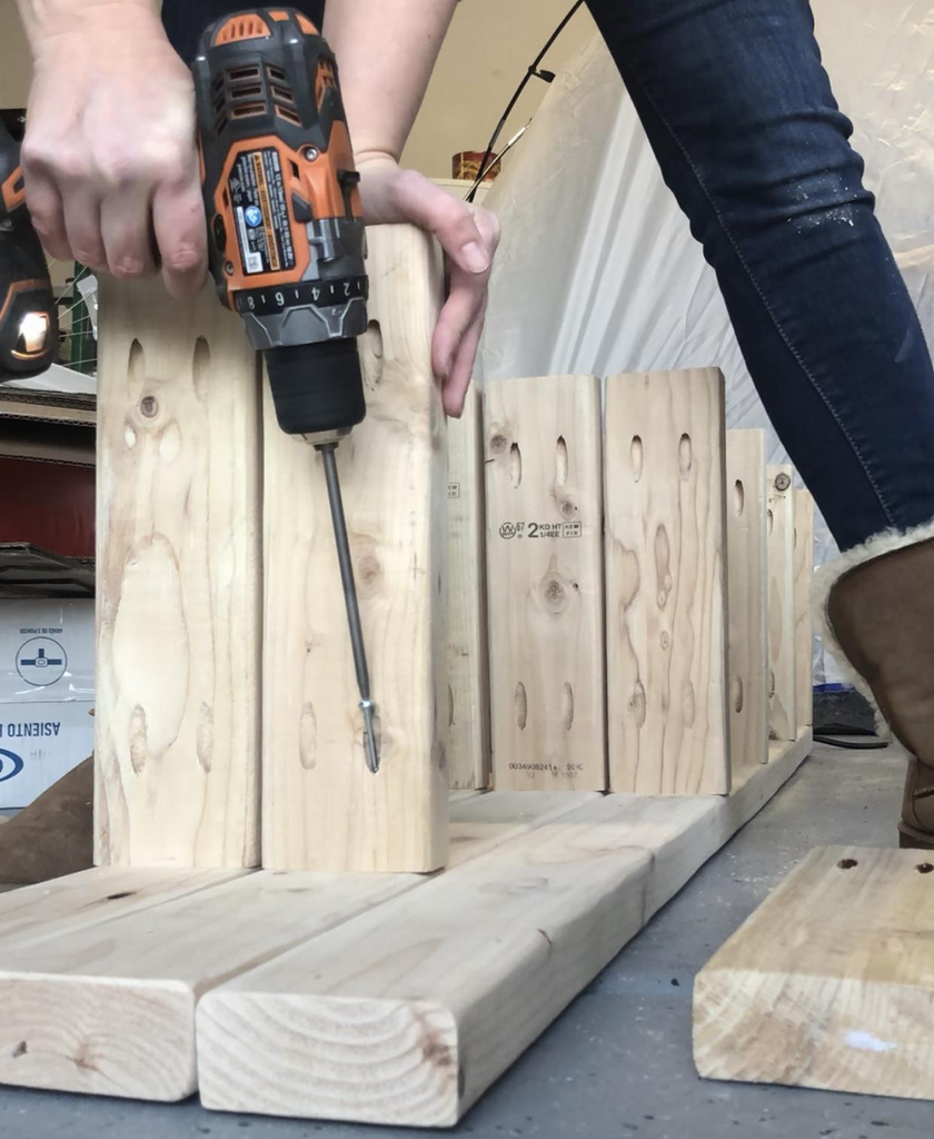 DIY Pantry Shelf  using a Kreg Jig