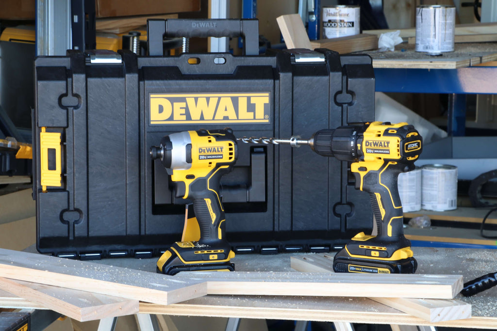 Dewalt ATOMIC 20-Volt MAX Lithium-Ion Cordless Hammer Drill/Impact Combo Kit (2-Tool) with ToughSystem Case