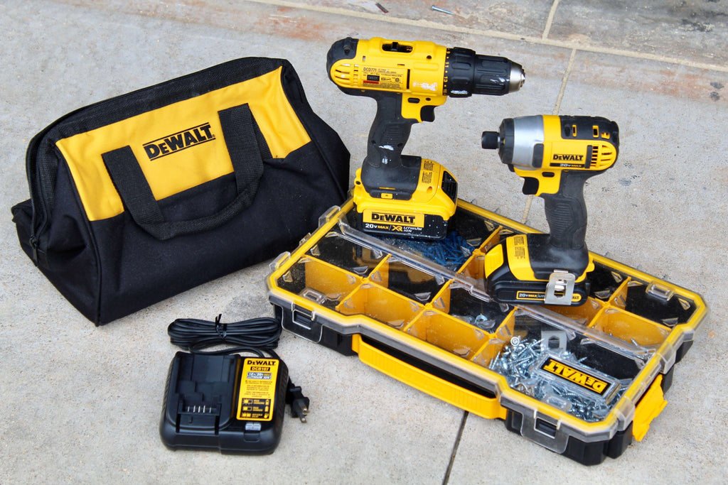 Dewalt Drill and Driver Impact Kit