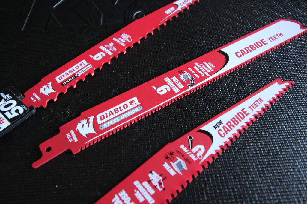 Diablo Carbide Blades