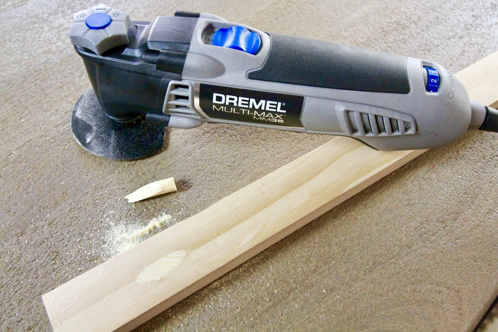Filling Pocket Holes with a Dremel MultiMax
