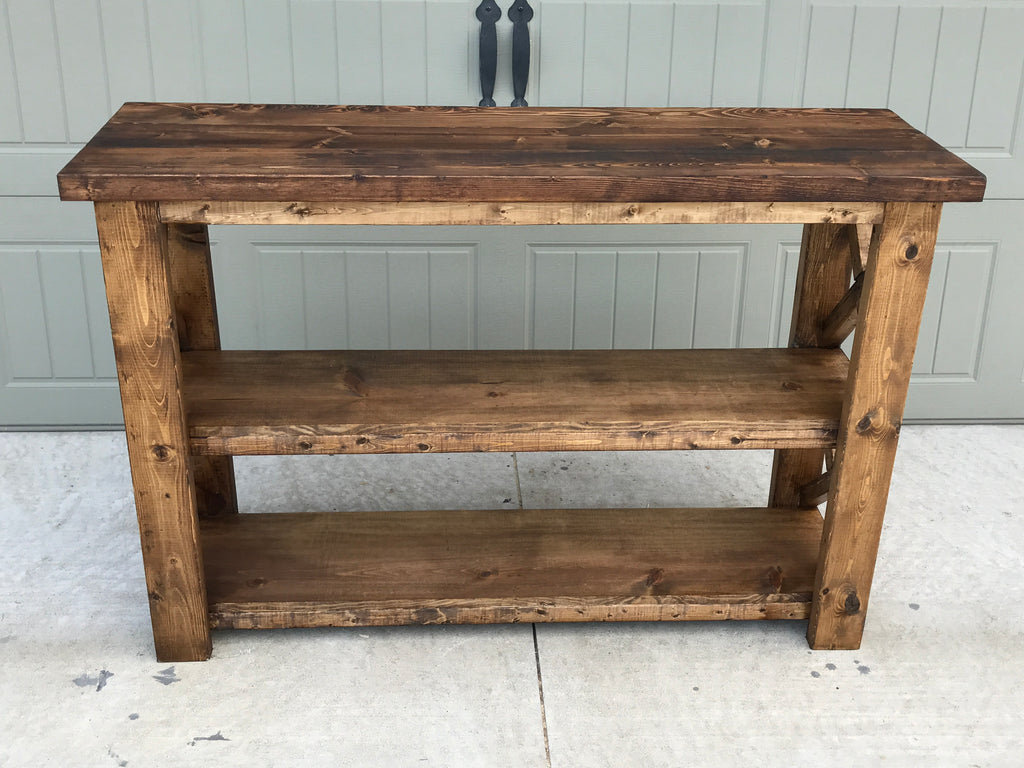 Rustic Console Furniture Piece