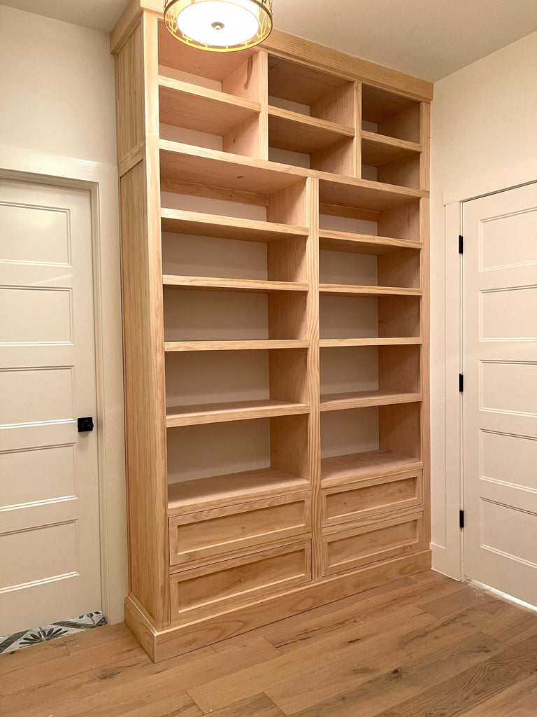 Shoe Built In for Master Walk In Closet