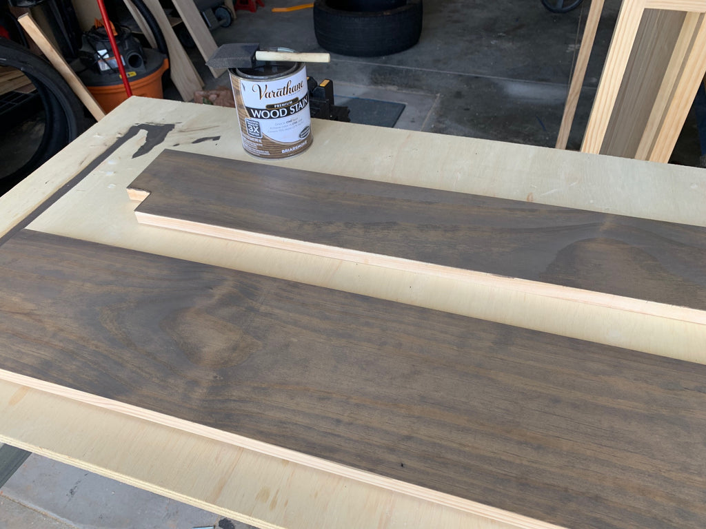 DIY Hall Tree Bench