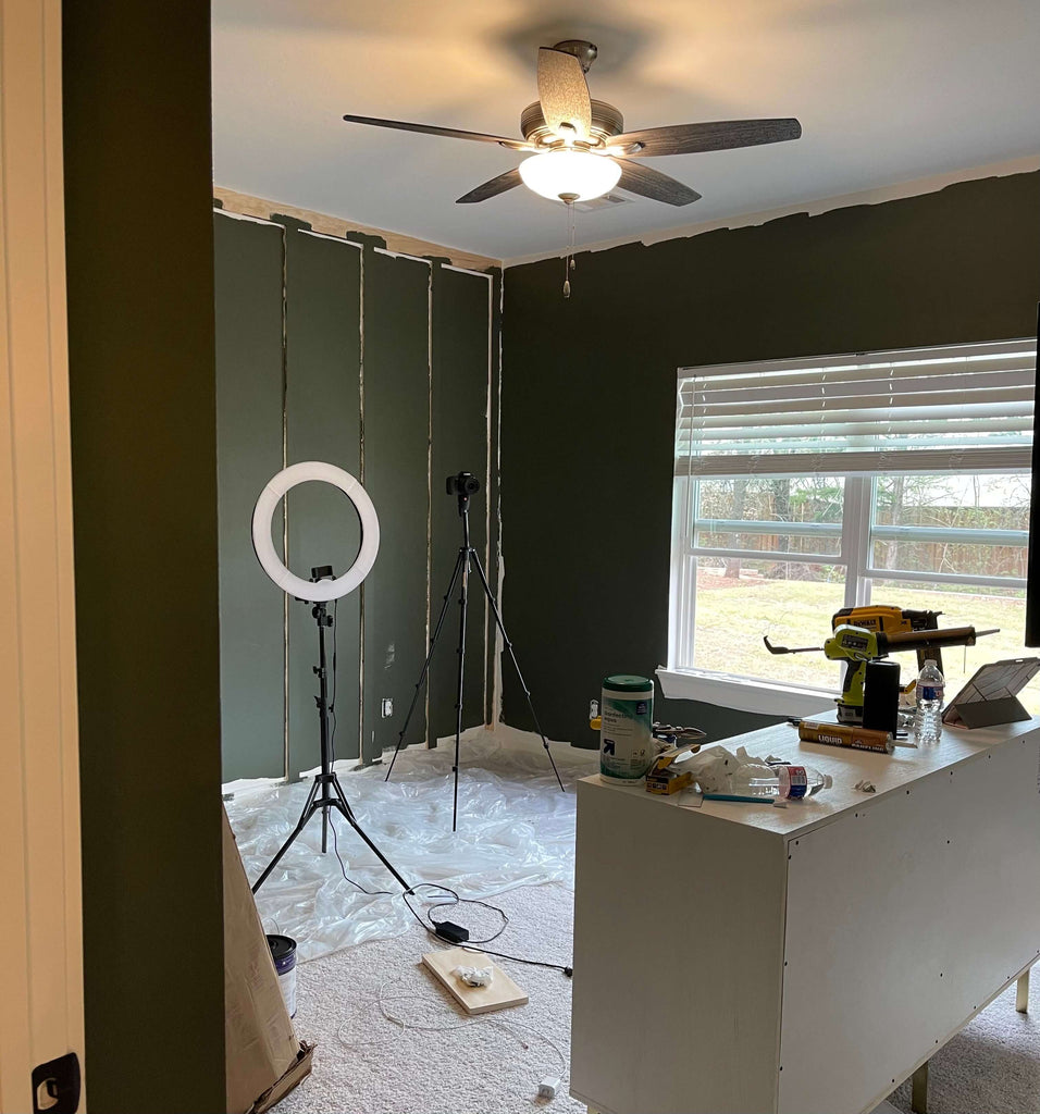 Painting a bedroom black bamboo