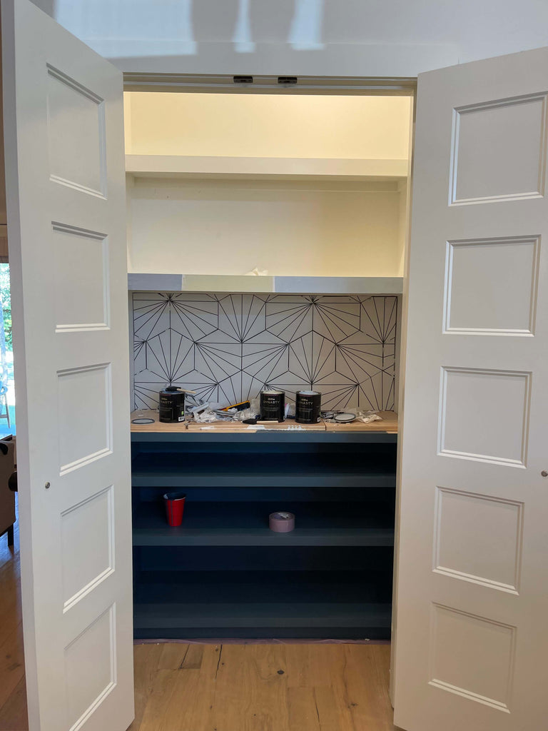 paint colors for pantry makeover