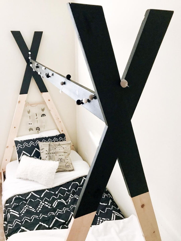 Diy Kids Teepee Bed Handmade Haven