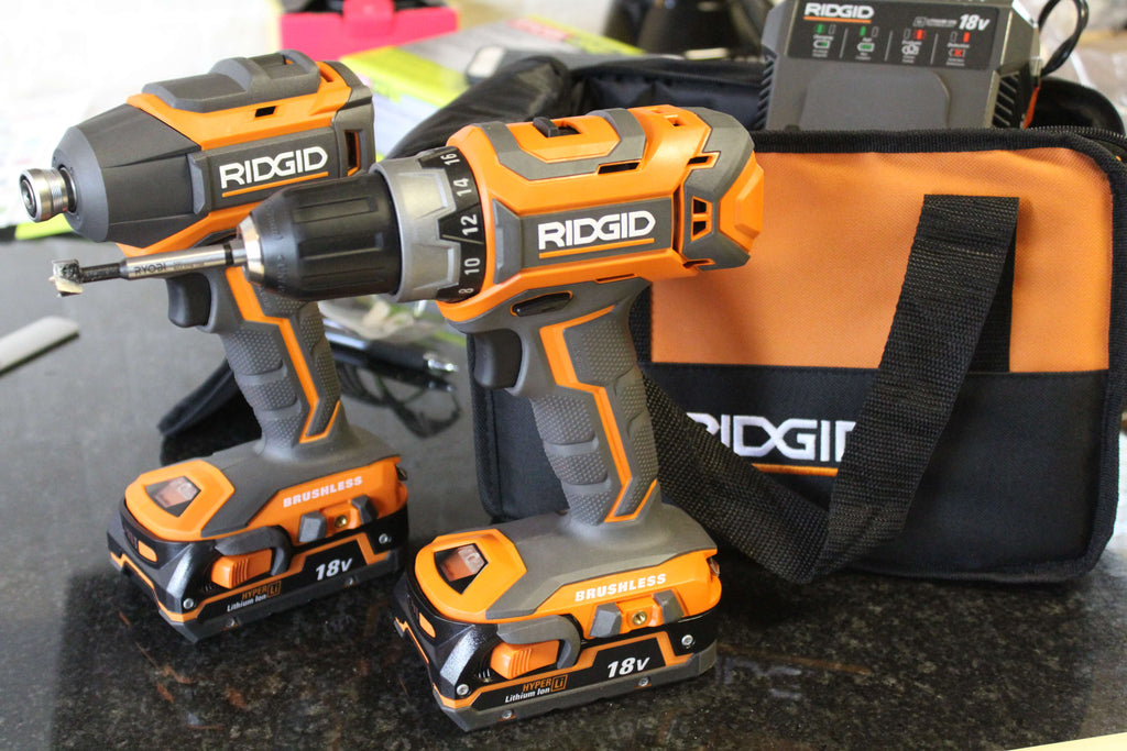 RIdgid Impact Drill and Driver Kit