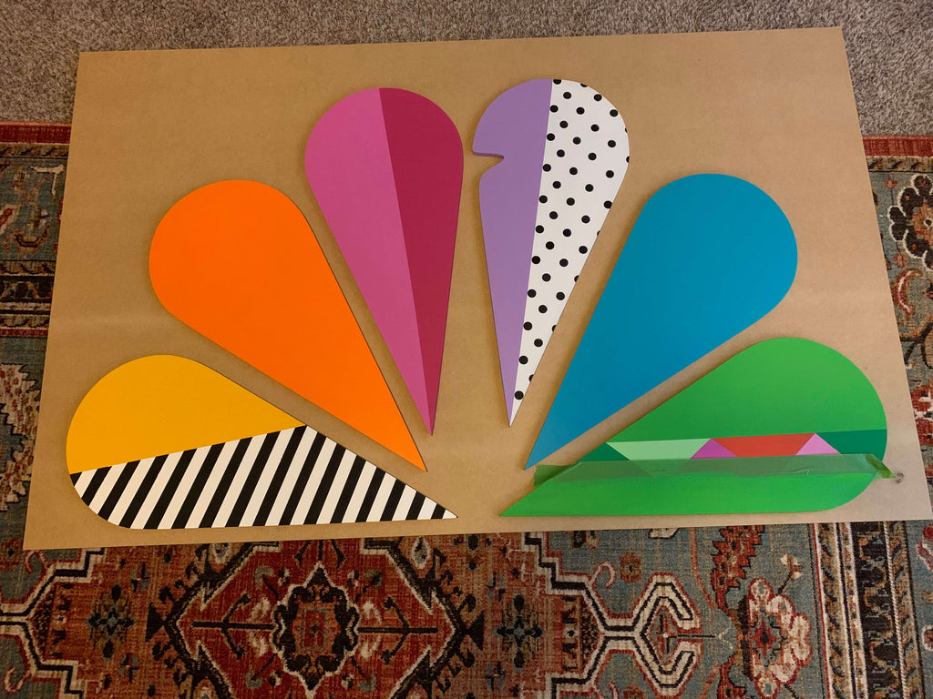 Making It Photoshoot NBC logo