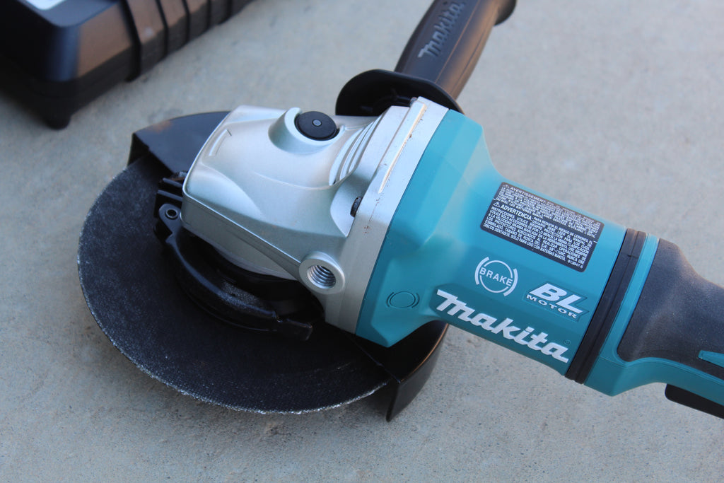 Makita 18-Volt 5.0Ah X2 LXT Lithium-Ion (36-Volt) Brushless Angle Grinder Kit Tool Review