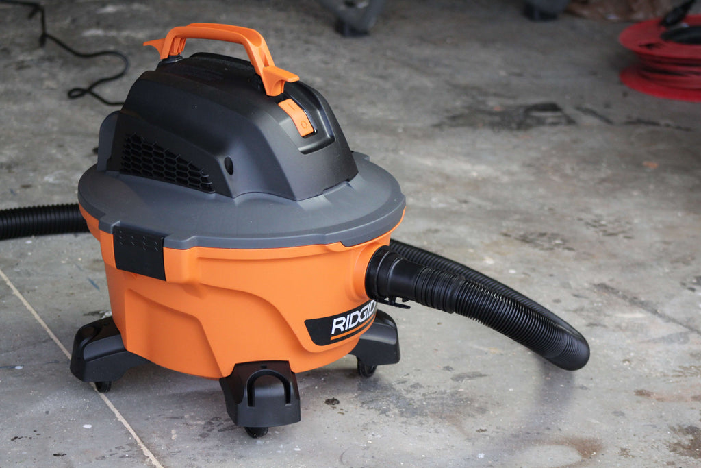 Ridgid 6-gallon Shop Vac Tool Review