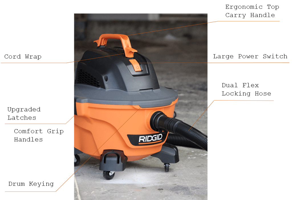 Ridgid 6 gallon Shop Vac Tool Review