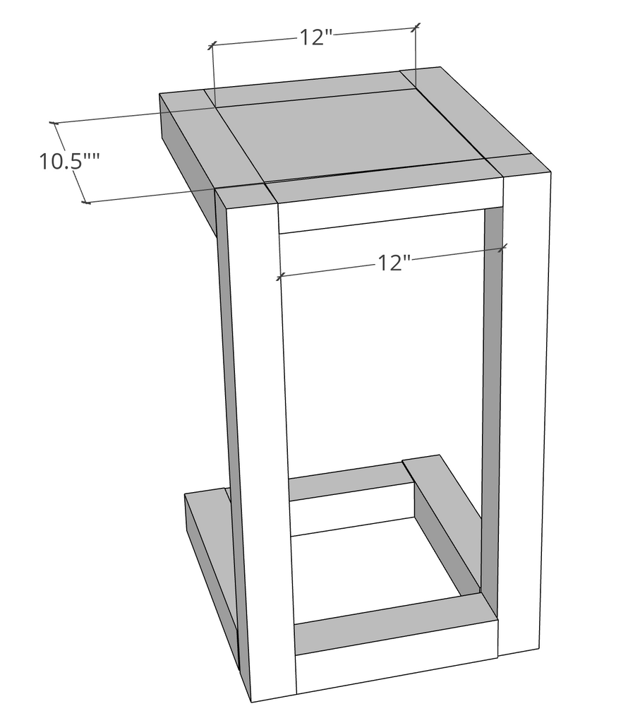 Pull Out Table Dimensions